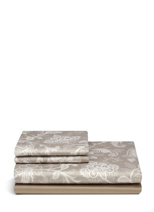 Main View - Click To Enlarge - Etro - Dawson Mackenzie floral print king size duvet set