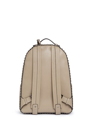 Back View - Click To Enlarge - Valentino - Rockstud leather backpack