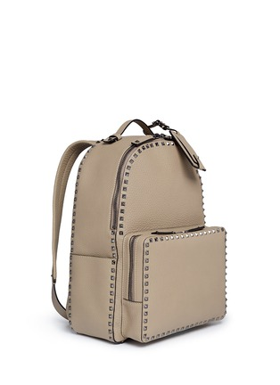 Figure View - Click To Enlarge - Valentino - Rockstud leather backpack