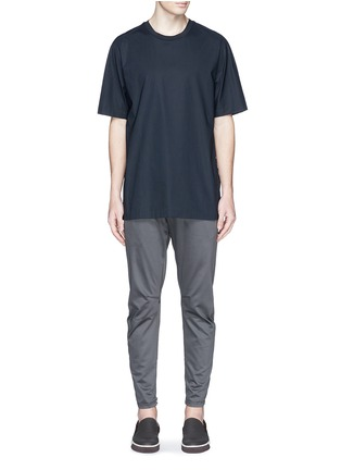 Figure View - Click To Enlarge - Lanvin - Zip cuff biker pants