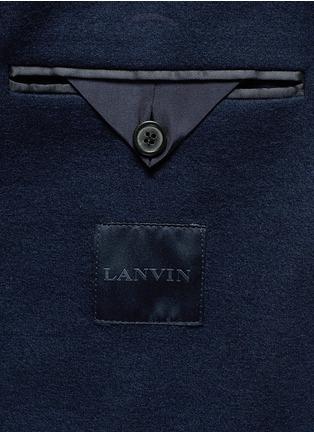 - Lanvin - Notch lapel unlined blazer