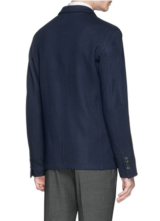 Back View - Click To Enlarge - LANVIN - Notch lapel unlined blazer