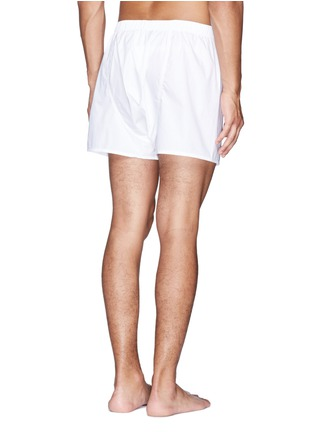 Back View - Click To Enlarge - Sunspel - Cotton boxer shorts