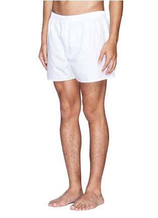 Figure View - Click To Enlarge - Sunspel - Cotton boxer shorts