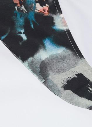 - ALEXANDER MCQUEEN - Floral print harness shirt