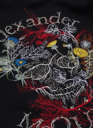 - ALEXANDER MCQUEEN - Floral skull print sweatshirt