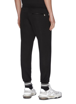 Back View - Click To Enlarge - ALEXANDER MCQUEEN - Straight leg jogging pants
