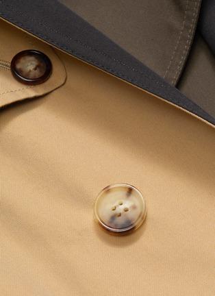 - ALEXANDER MCQUEEN - Asymmetric tailored trench coat
