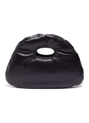 Main View - Click To Enlarge - A.W.A.K.E. MODE - 'Lucy' small padded vegan leather bag