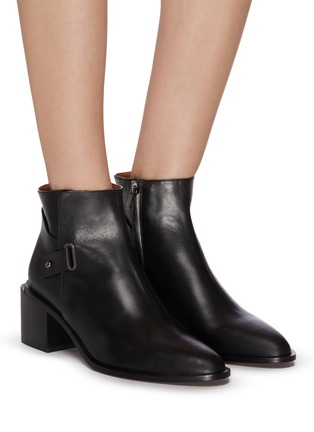 Figure View - Click To Enlarge - CLERGERIE - 'Xingar' ankle leather boots
