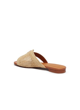 - CLERGERIE - Braided raffia slippers