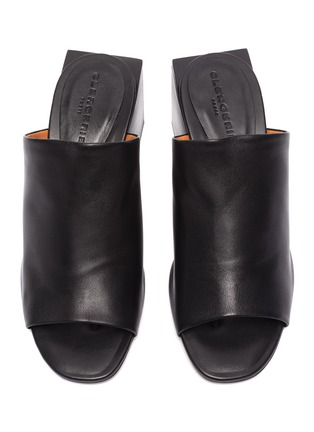 Detail View - Click To Enlarge - CLERGERIE - 'Edith' block heel mules