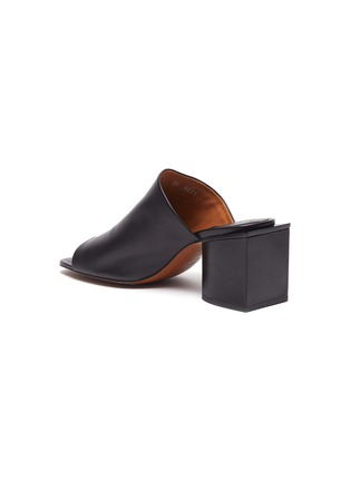 - CLERGERIE - 'Edith' block heel mules