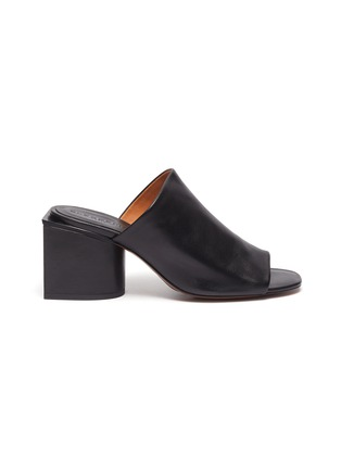 Main View - Click To Enlarge - CLERGERIE - 'Edith' block heel mules