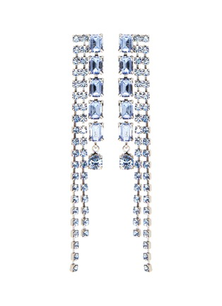 Main View - Click To Enlarge - JOOMI LIM - Crystal chain earrings