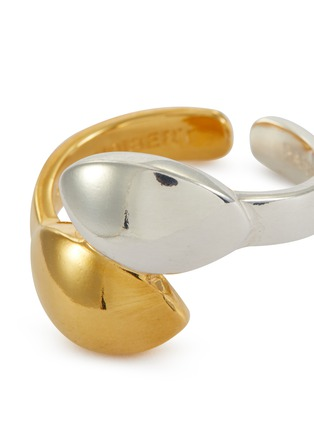 Detail View - Click To Enlarge - PHILIPPE AUDIBERT - 'Guily' twist open ring