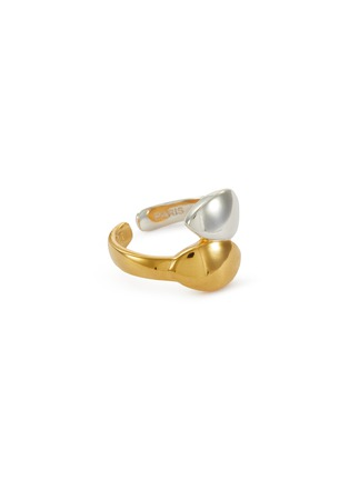 Main View - Click To Enlarge - PHILIPPE AUDIBERT - 'Guily' twist open ring