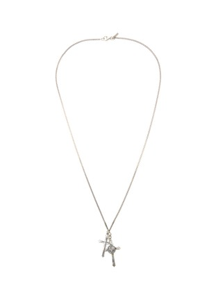 Main View - Click To Enlarge - EMANUELE BICOCCHI - Double cross necklace