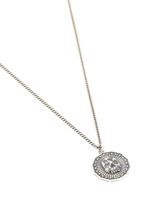 Detail View - Click To Enlarge - EMANUELE BICOCCHI - Skull coin pendant necklace