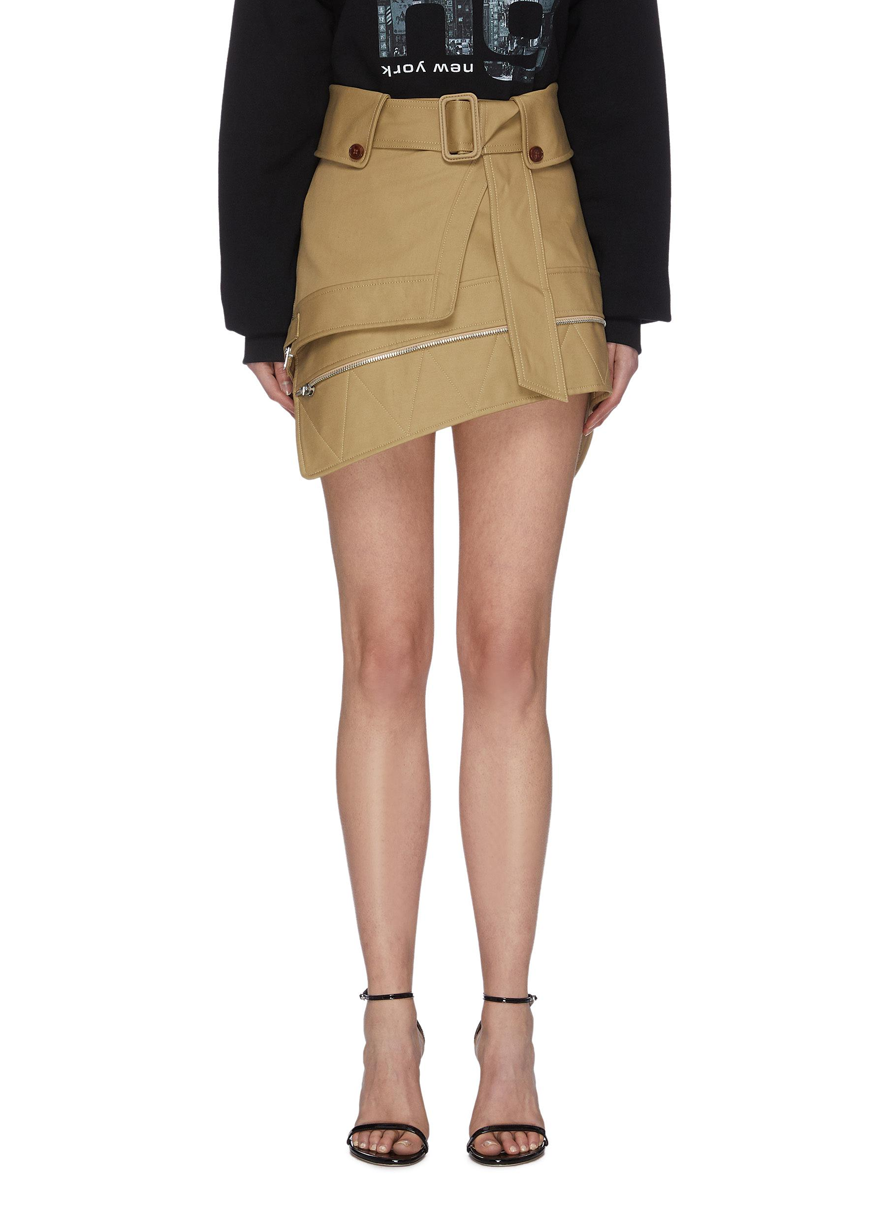 shop Alexander Wang Deconstructed Trench Skirt online
