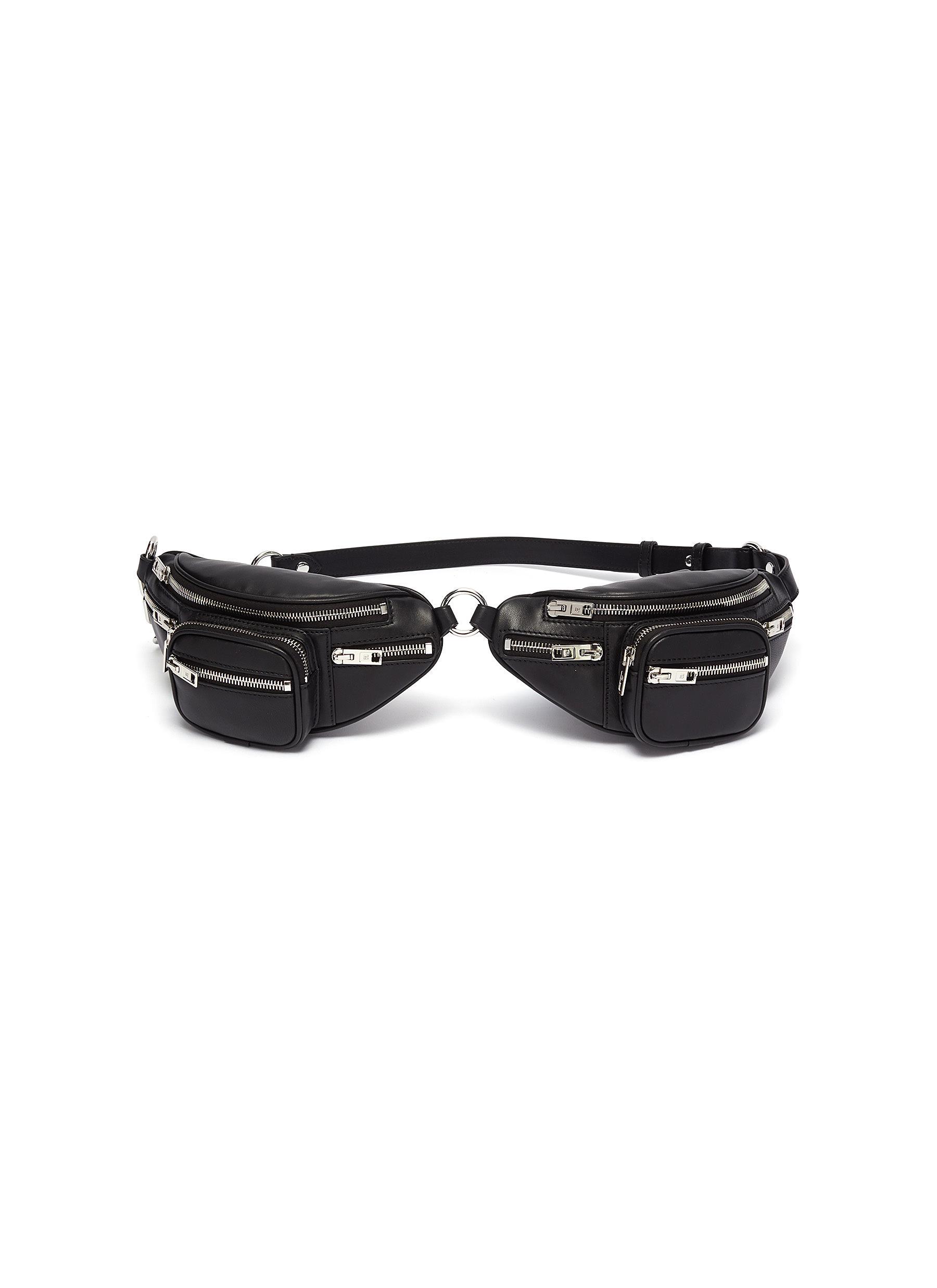 Alexander Wang 'Attica' double leather mini belt bag
