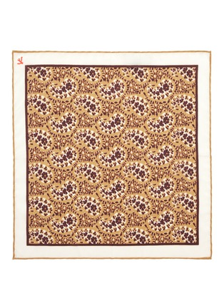 Detail View - Click To Enlarge - ISAIA - Paisley print silk pocket square