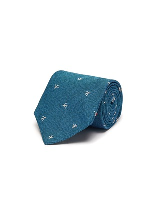 Main View - Click To Enlarge - ISAIA - Coral jacquard silk tie