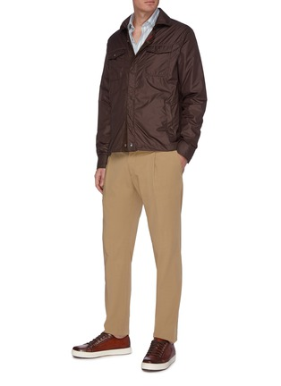 Figure View - Click To Enlarge - ISAIA - Snap front jacket