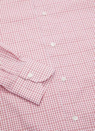 - ISAIA - 'Parma' checked shirt