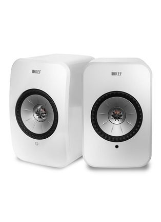 Main View - Click To Enlarge - KEF - LSX Wireless Music System – White