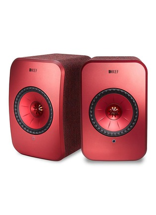 Main View - Click To Enlarge - KEF - LSX Wireless Music System – Maroon
