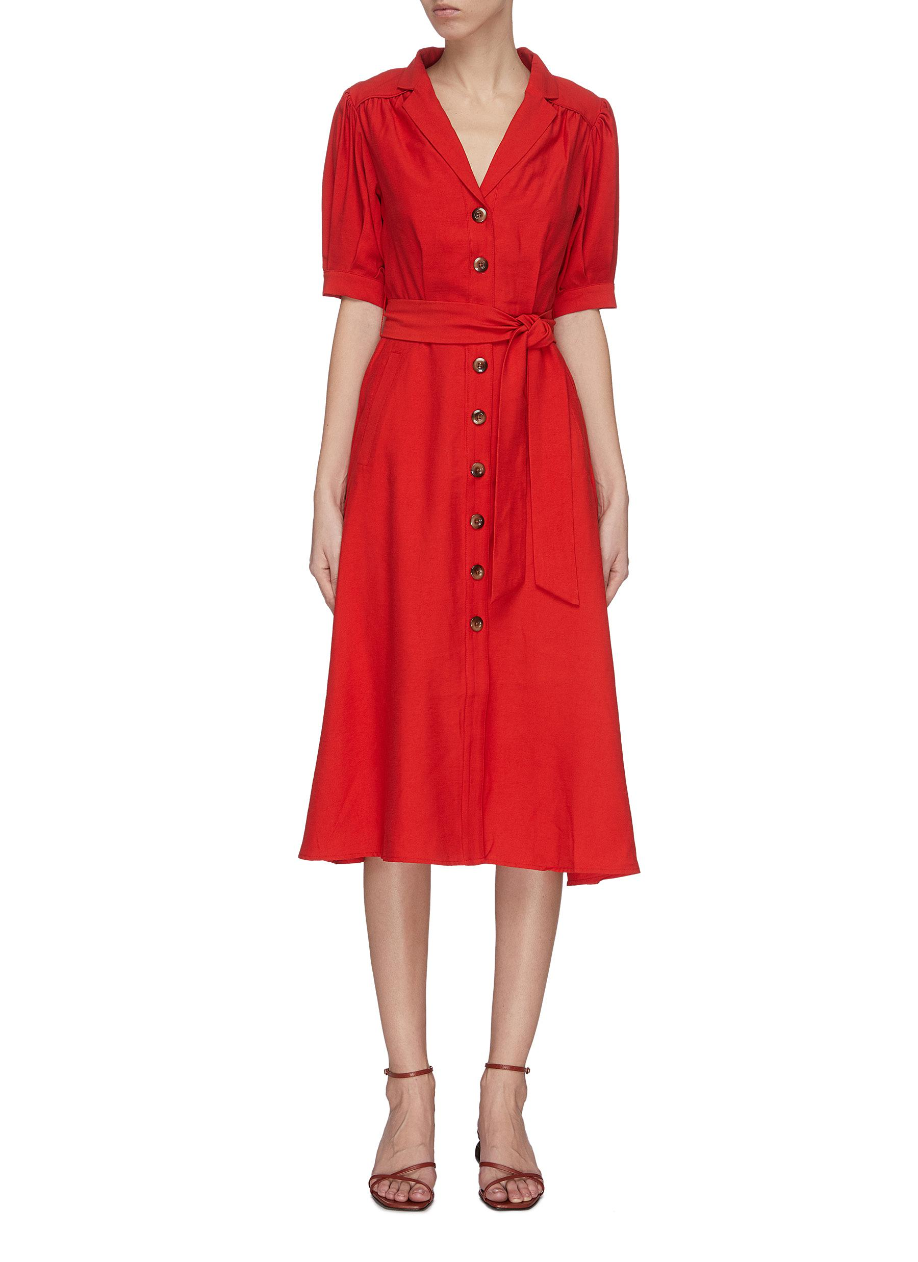 Buy C/Meo Collective Dresses 'New Places' maxi shirt dress
