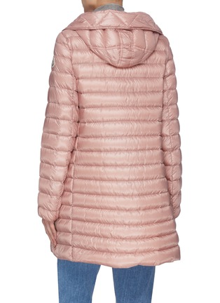 Back View - Click To Enlarge - MONCLER - 'Rubis' hooded puffer coat