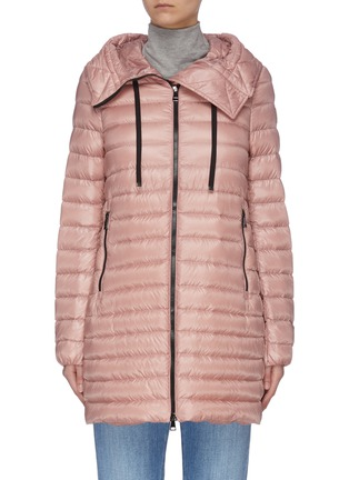 Main View - Click To Enlarge - MONCLER - 'Rubis' hooded puffer coat