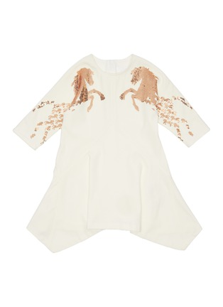 Main View - Click To Enlarge - CHLOÉ - 'Ceremony' horse sequin embellished dress