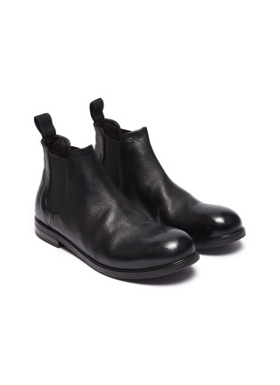 Detail View - Click To Enlarge - MARSÈLL - 'Zucca Media' chelsea leather boots