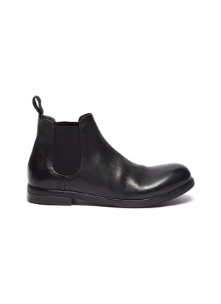 Main View - Click To Enlarge - MARSÈLL - 'Zucca Media' chelsea leather boots