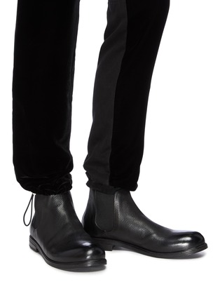 Figure View - Click To Enlarge - MARSÈLL - 'Zucca Media' chelsea leather boots