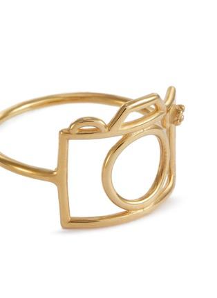 Detail View - Click To Enlarge - ALIITA - 'Camara Brillante' diamond 9k gold ring