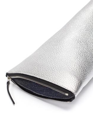 Detail View - Click To Enlarge - SIMON MILLER - 'Slug' asymmetric leather clutch