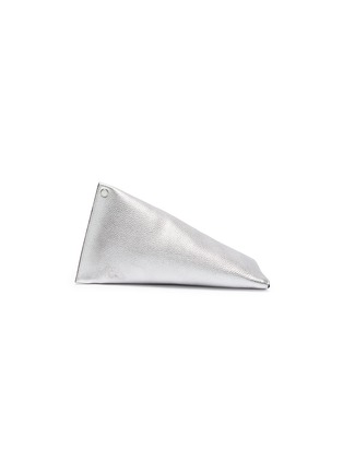 Main View - Click To Enlarge - SIMON MILLER - 'Slug' asymmetric leather clutch