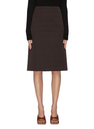 Main View - Click To Enlarge - BOTTEGA VENETA - Mold pencil midi skirt