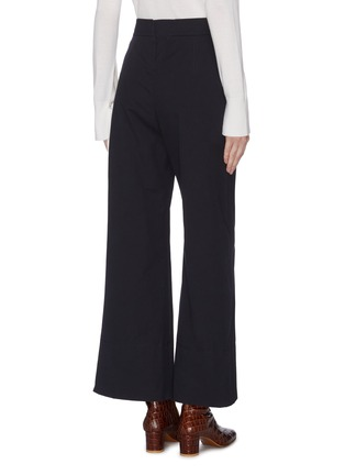 Back View - Click To Enlarge - CHLOÉ - Side button sailor culottes