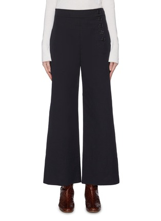Main View - Click To Enlarge - CHLOÉ - Side button sailor culottes