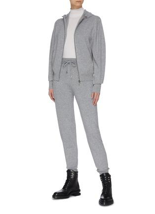 Figure View - Click To Enlarge - CHLOÉ - Patch pocket cashmere jogging pants