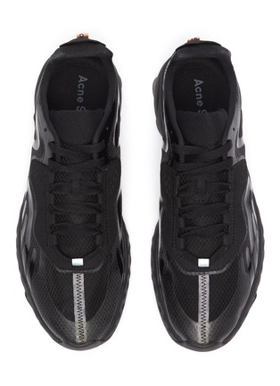 Detail View - Click To Enlarge - ACNE STUDIOS - Semi transparent ripstop technical sneakers