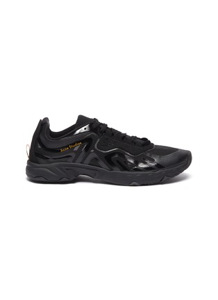 Main View - Click To Enlarge - ACNE STUDIOS - Semi transparent ripstop technical sneakers