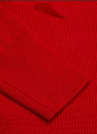 - MONSE - Distressed turtleneck sweater