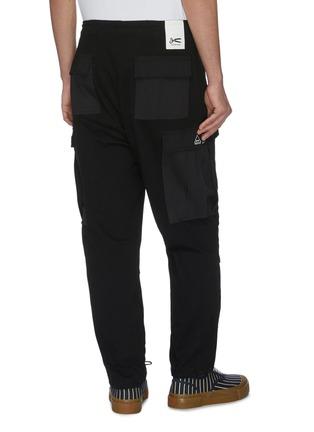 Back View - Click To Enlarge - DENHAM - Cargo pockets wide leg pants
