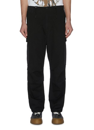 Main View - Click To Enlarge - DENHAM - Cargo pockets wide leg pants